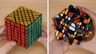 7x7 Fisher Cube Unboxing and Solve! | Calm Cuber