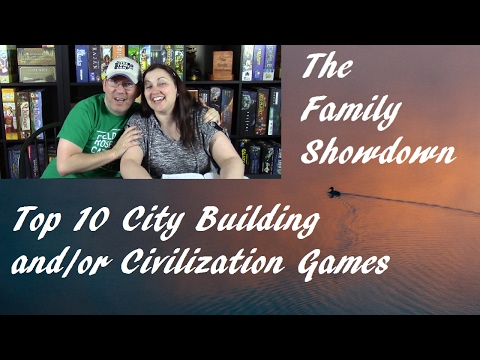 Top 10 City Building and/or Civilization Board Games