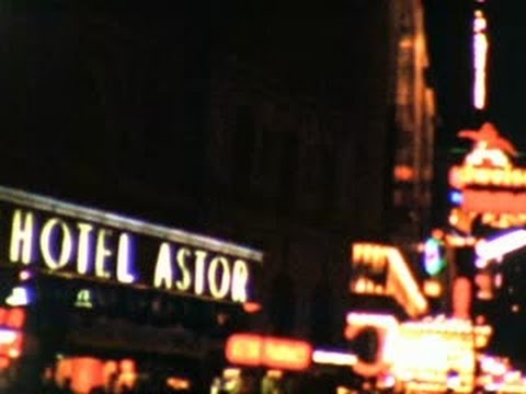 New York City - Retro Movie made from Home Movie Clips