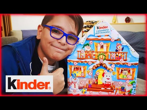 KINDER - APRO IL CALENDARIO DELL' AVVENTO! - Leo Toys ...