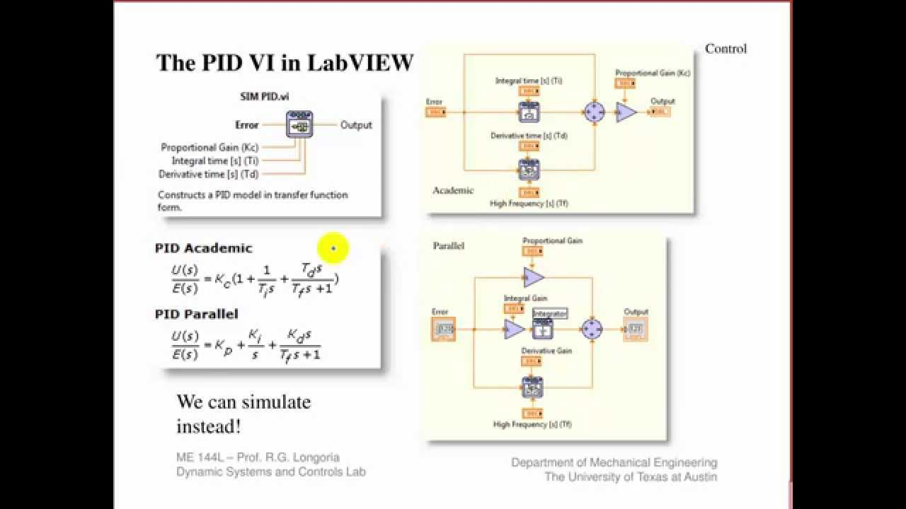 ME 144L: Simulation of closed-loop control of the analog meter using LabVIEW