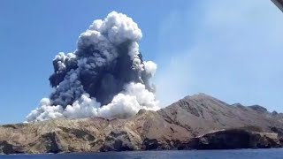 Hope fades for eight missing after New Zealand volcanic island erupts