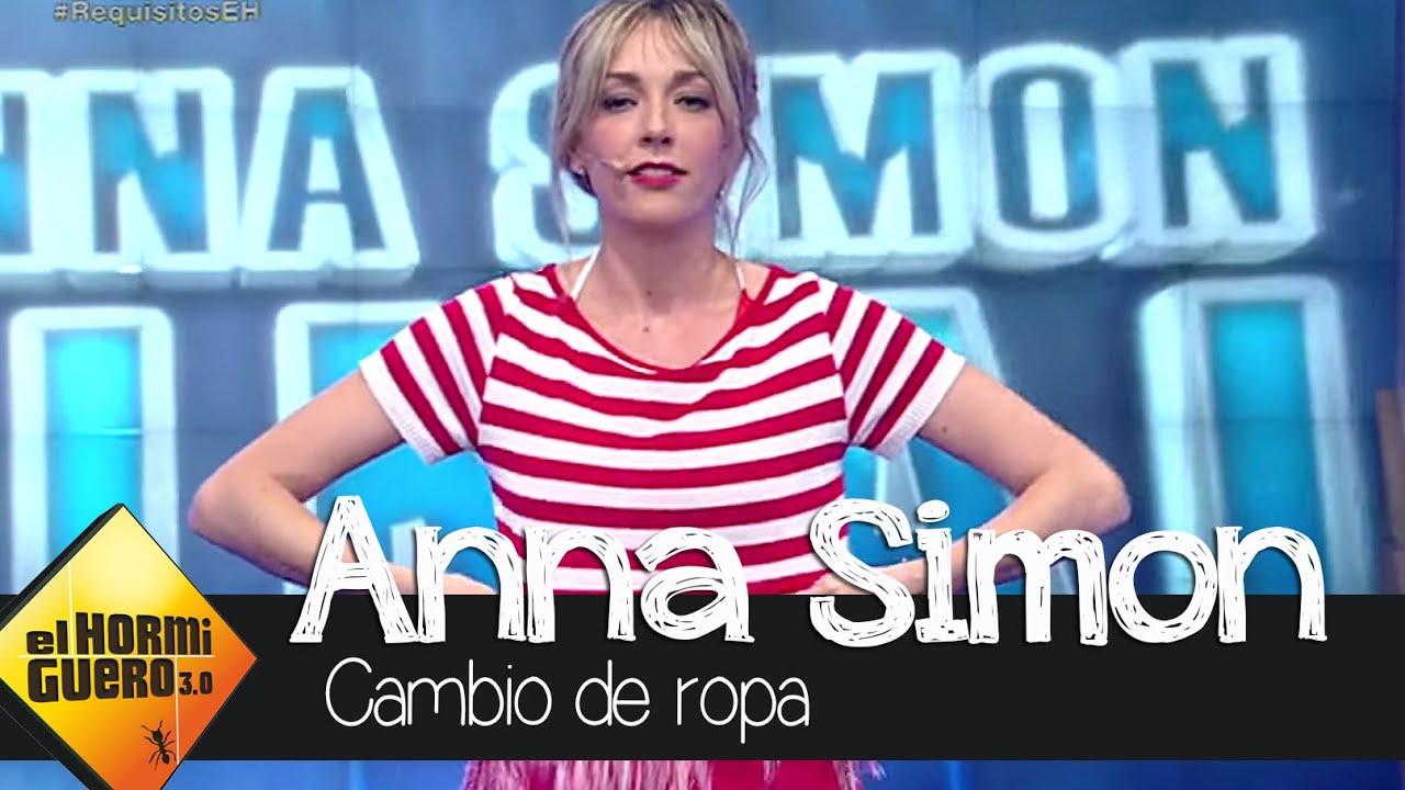 Anna Simón se quita la ropa en \'El Hormiguero\' - YouTube