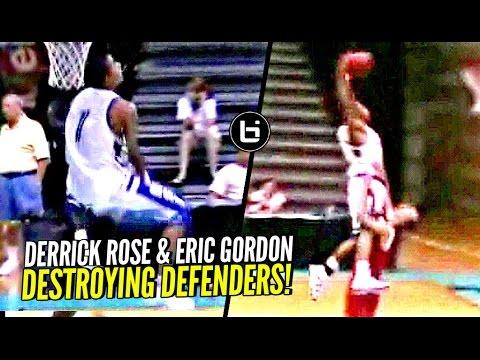 118aa310954d Derrick rose eric gordon destroying defenders in high school on the same aau  team just unfair