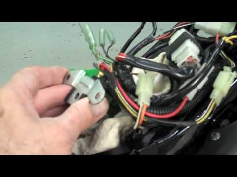 Suzuki Savage Seat & Wiring Prep - YouTubeYouTube