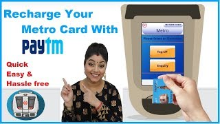 How to Recharge Delhi Metro Card  || Paytm Recharge || Online Recharge