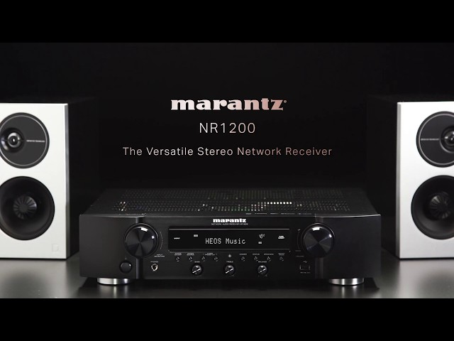 Marantz — Introducing the NR1200 Slim Stereo Receiver