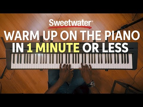 Warm Up on the Piano in 1 Minute or Less