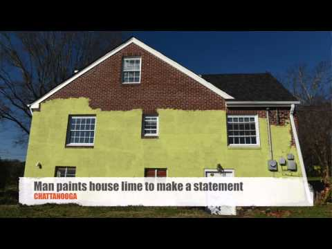 Doctor paints house lime green to teach neighbors a lesson