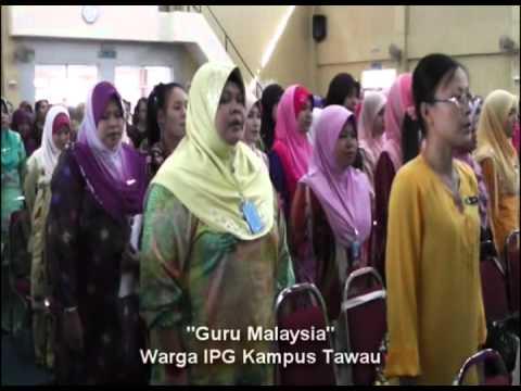 Majlis Hari Guru 2012 IPG Tawau - Nyanyian Lagu Patriotik_(Part01)