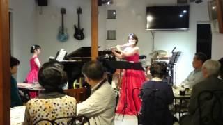 2015.11.15 ◇フルート 中島有子(なかしま ゆうこ) ◇ピアノ 田中美里(た...