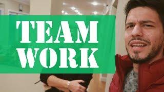 Team work makes the dream work - Vlog #6 part 1
