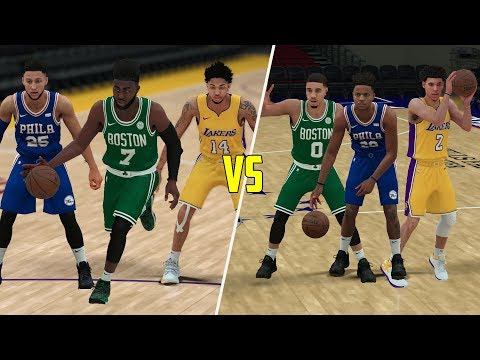 2017 Vs 2016 NBA Draft Class! Which Is The Better Draft Class? NBA 2K18 Challenge!