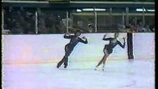 Tai Babilonia & Randy Gardner - 1976 Olympics - Short Program