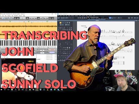 John Scofield Sunny Solo - Levi Clay Transcribes Jazz Guitar Solo Lessons