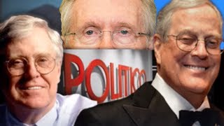 Koch Bros Hatchet Man Attacks Harry Reid In Politico Chop Job