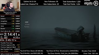 The Last of Us Part II Speedrun World Record! (2:15:00 IGT) for Ellie% on Survivor mode (Glitchless)