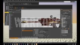 Cryengine 3 Как ставить Золотые модули на Оружие