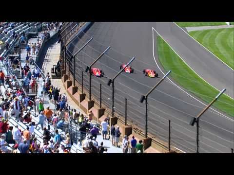 Indy 500 2014 Team Lotus STP Turbine Tribute