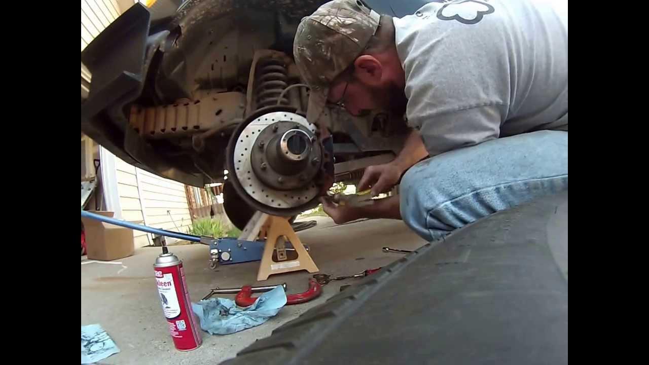 Dana 44 Brake Pad Hub and Rotor Assembly Front Axle