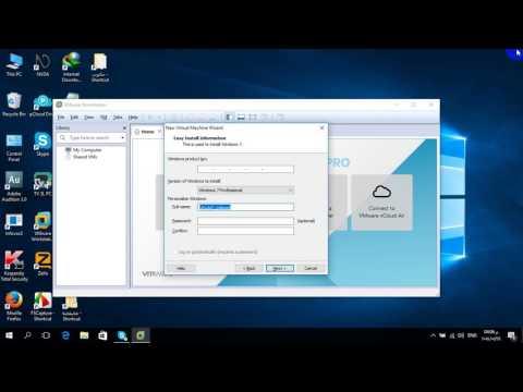 شرح VMware Workstation Pro  ل مصطفى البحيري صناعة الأنظمة الوهمية ومشاركة الملفات والأجهزة