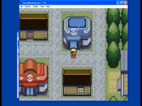 Where is the master ball in Pokemon fire red version game ...