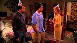 Two And a Half Men- Season 3 Episode 16, One Of The Most Hilarious Scene