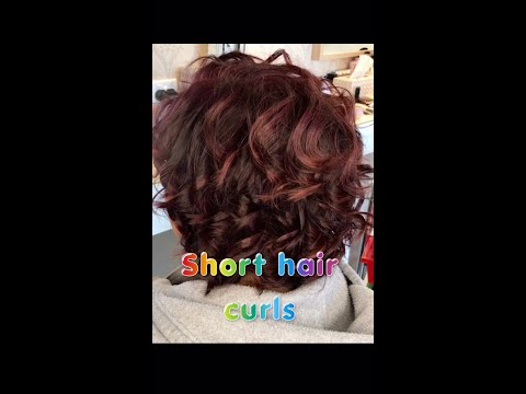 How to Curl Short Hair (Easy)