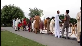 Smoke pranks people disturbing /humza Tiger in Pakistan