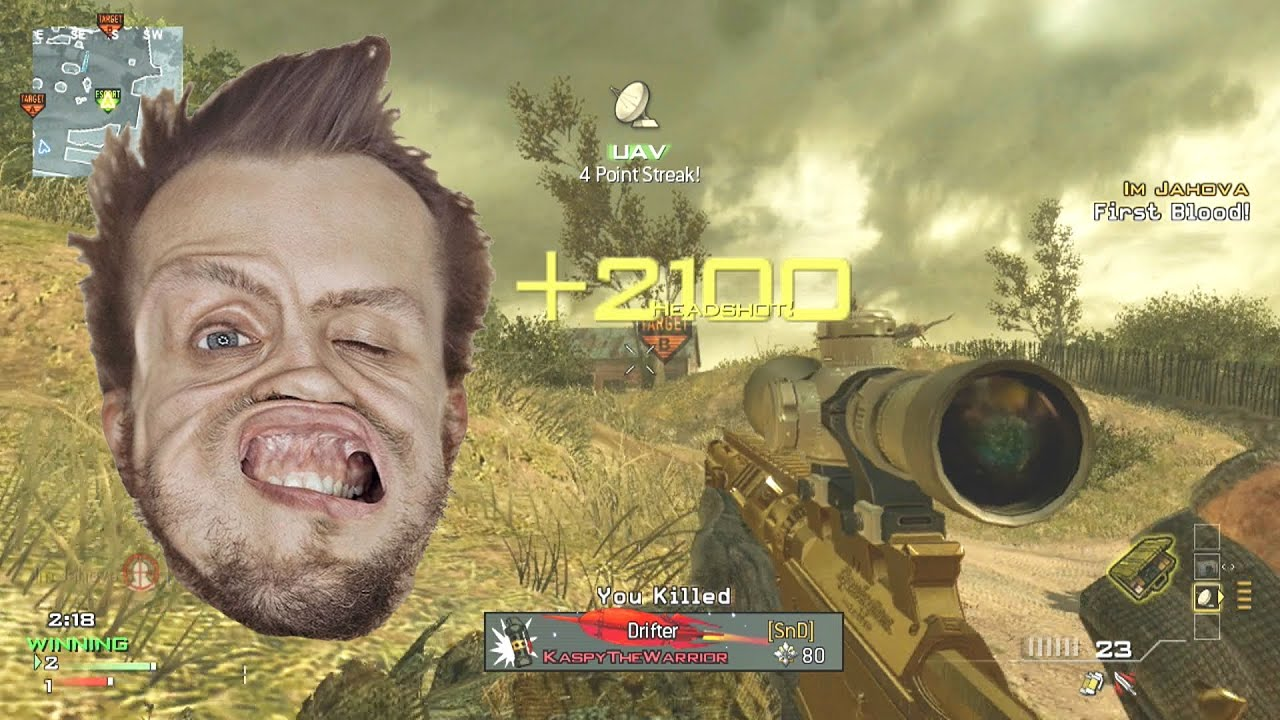 Jahova Gets The Most Amazing COD Killcam Of All Time - YouTube