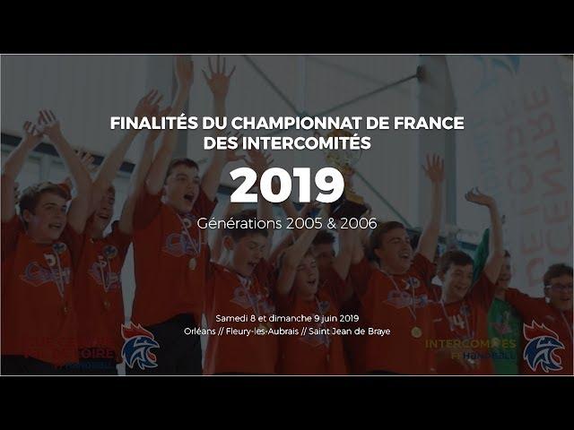 Handball - Finales Intercomités 2019 - Orléans