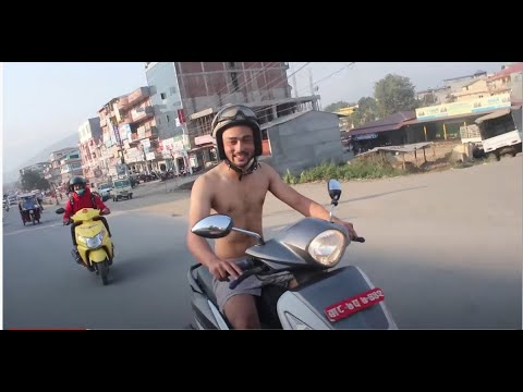नेकेड ride chitwan react  Special video | nepali |