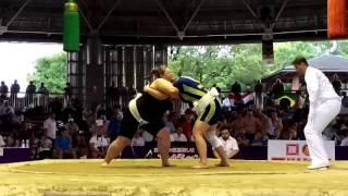 UKR vs RUS Zhigalova Women's Sumo Finals