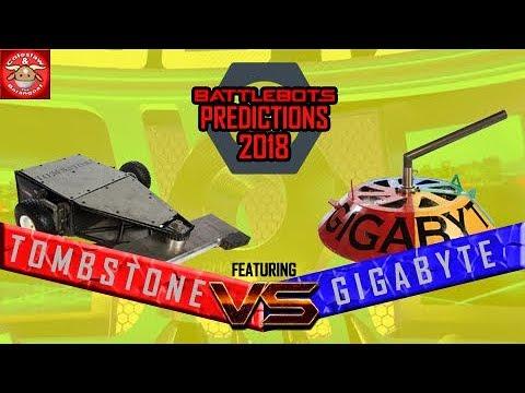 Download BattleBots Predictions 2018 #4 feat. TOMBSTONE VS GIGABYTE!
