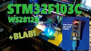 STM32F103C WS2812B [+ Blab  ]