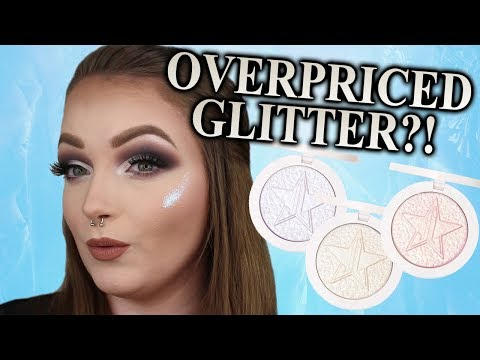 Jeffree why ..? JEFFREE STAR COSMETICS EXTREME FROST HIGHLIGHTER REVIEW (Dupes Included!) thumbnail