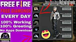 Free fire Free Diamond Every day    Free fire how to get free diamond Trick    Free fire New update