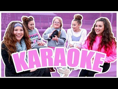 Try Not To Sing Along Challenge! Sarah & Haschak Sisters Karaoke