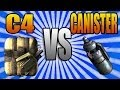 Call of Duty: Ghosts - C4 vs Canister Bomb (COD Ghost 101 Grenades Tips and Tricks)