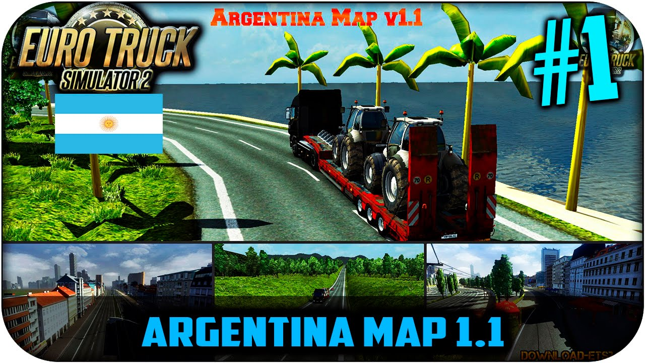 Argentina map 11 euro truck simulator 2 116 el comienzo argentina map 11 euro truck simulator 2 116 el comienzo youtube gumiabroncs Image collections