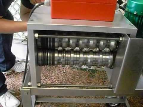 Copper Cable Stripping Machine part1