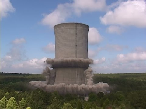 Savannah River DOE Site 185-3K Cooling Tower - Controlled Demolition, Inc.