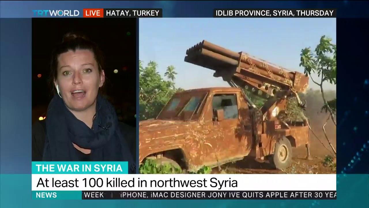 Regime forces launch new offensive in rebel-held Idlib #Regime