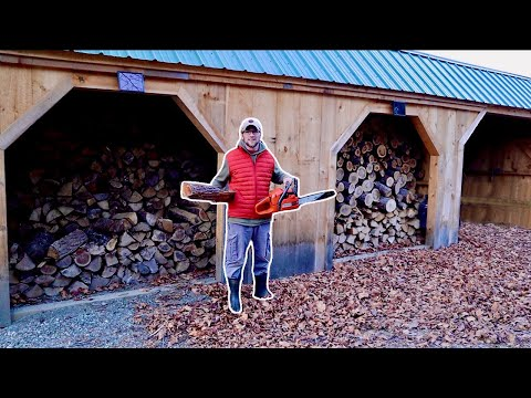 Prepping the Homestead For WINTER....What it Really Takes to Heat a Homestead with WOOD
