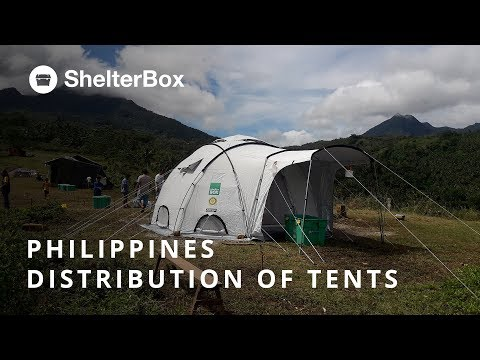 Philippines: Distributing Tents After Tropical Storm Kai-Tak | ShelterBox