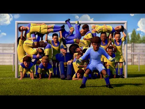 Best Animated Football Ads ft Messi & Ronaldo.