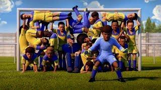 Beste Animierte Fußball-Ads ft Messi & Ronaldo.