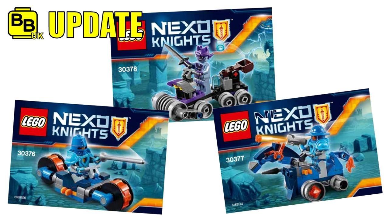 LEGO 30378 Nexo Knights Shrunken Headquarters Poly Bag