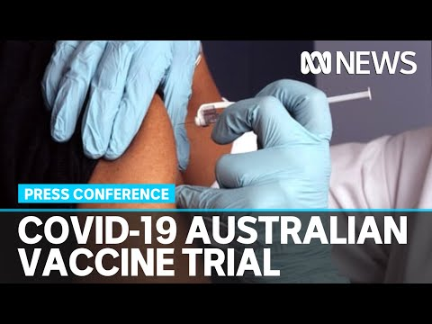 Human trials begin in Melbourne today for a potential COVID-19 vaccine: Press conference   ABC News