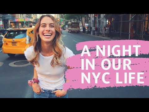 LIVING IN NEW YORK CITY: A Day In The Life & Behind The Scenes (Engaged Couple)